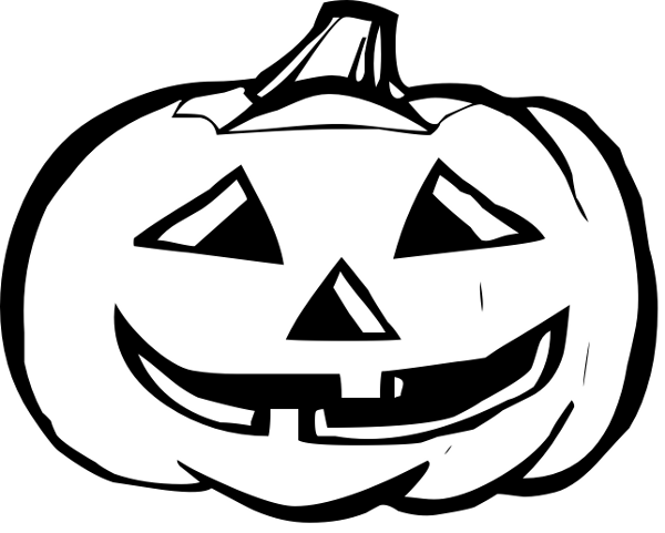 Halloween Pumpkin Images Clip Art.Halloween Pumpkin Clip Art Black And White Halloween