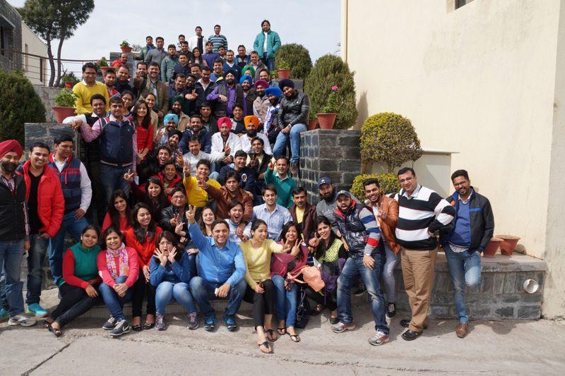 Vodafone Punjab Team #vodafone #training #punjab