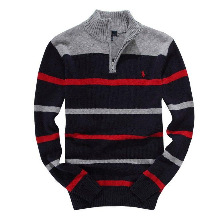 black and red ralph lauren jumper