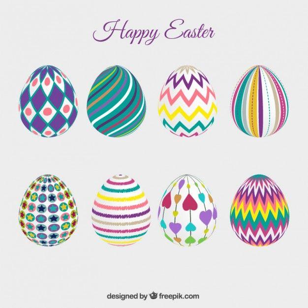 imagenes de huevos de pascua decorados - Buscar con Google Huevos - huevos decorados