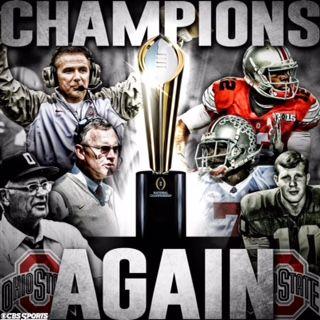 The undisputed champions Ohio state football, Ohio vs