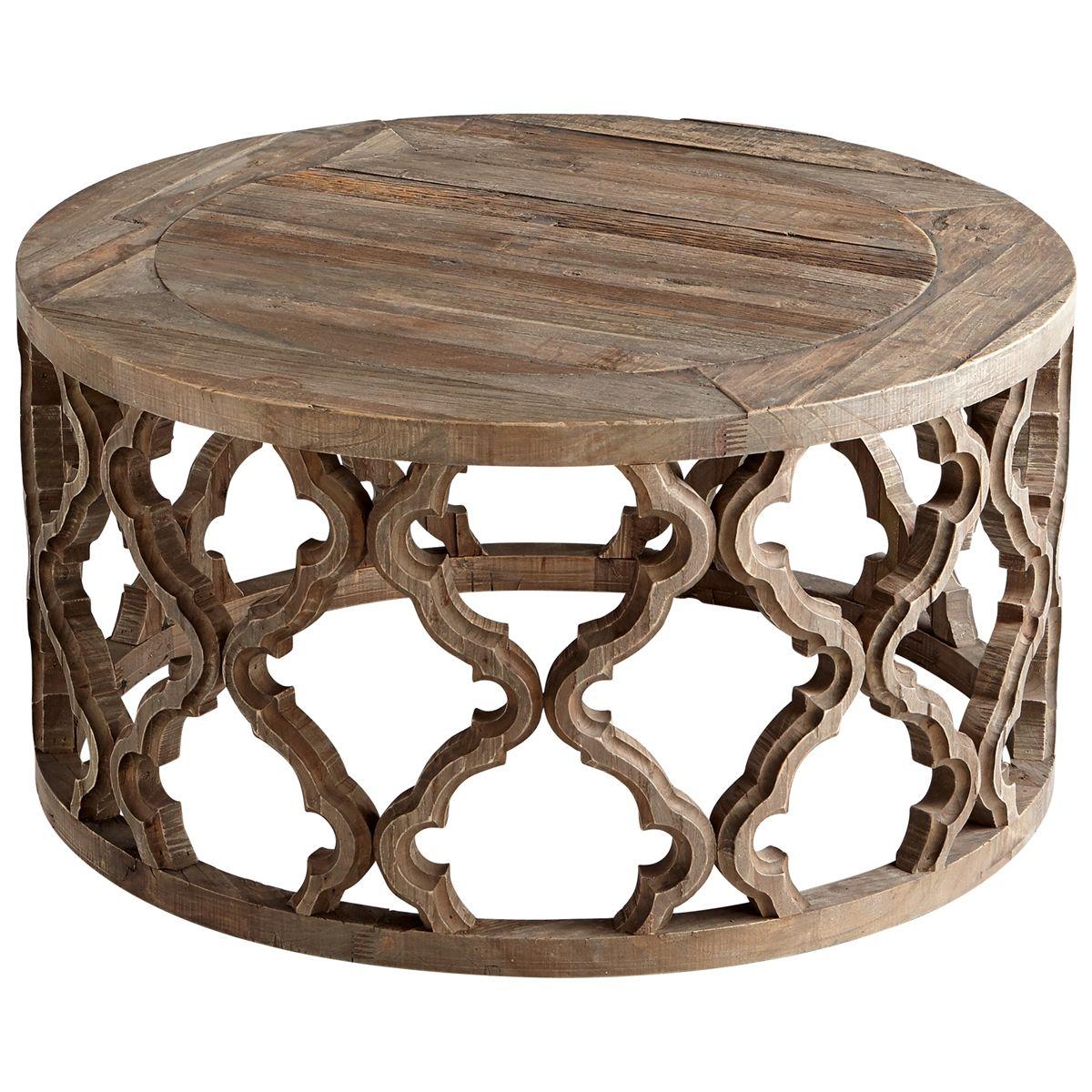Sirah Coffee Table Mesas De Centro Recicladas Coleccion De Muebles Mesas De Centro Redondas [ 1200 x 1200 Pixel ]