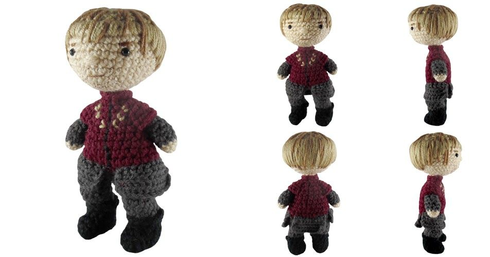 i crochet things: Free Pattern Friday: Tyrion Lannister Amigurumi ...