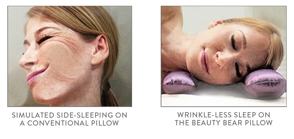 73d09559d Have sweet and wrinkle-free dreams with this innovative beauty pillow.