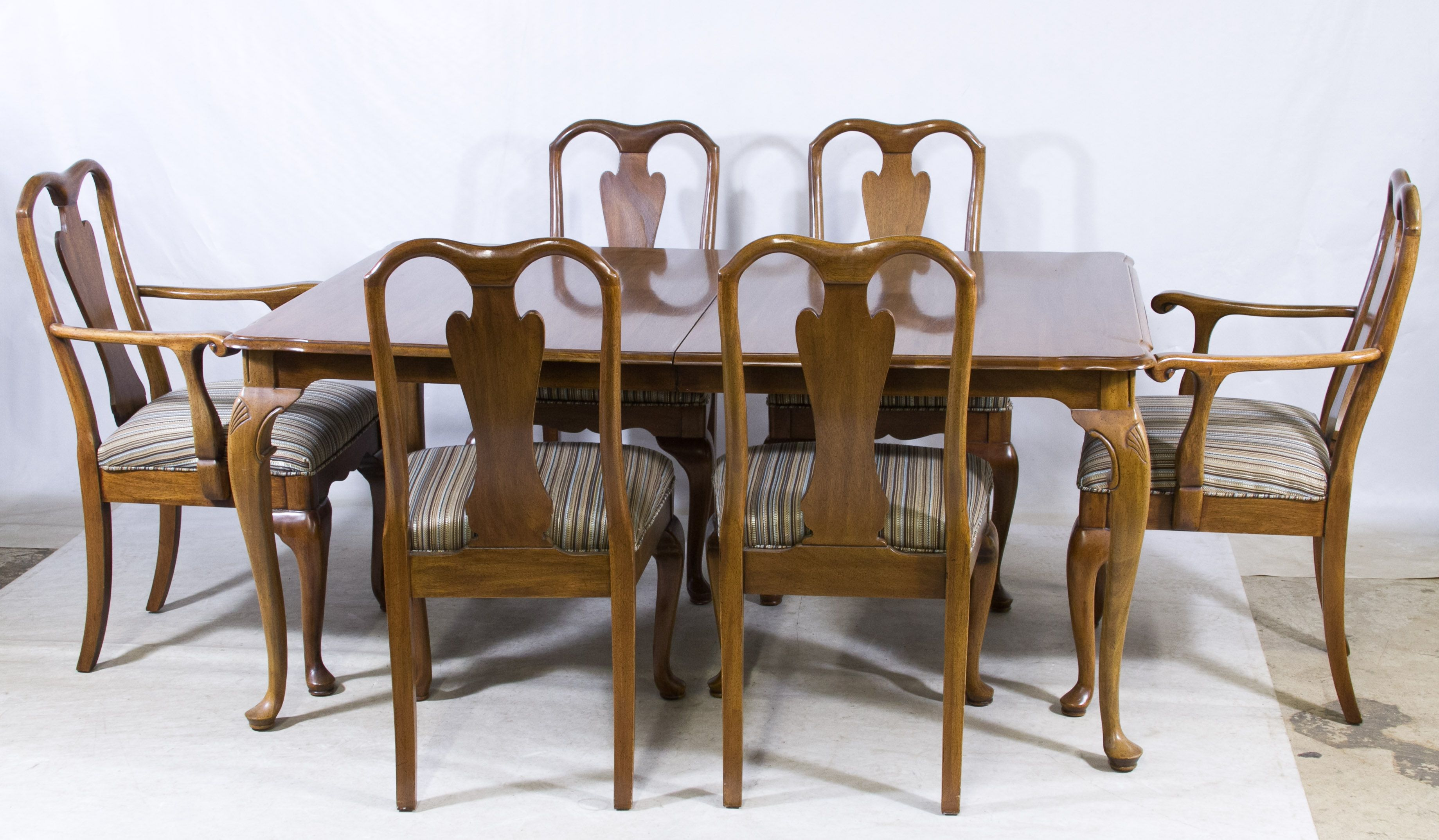 Table With Two Chairs Lot 74 Mahogany Dining Table And Chairs By Davis Including Two