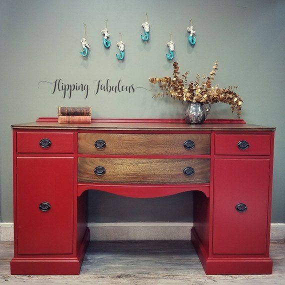 Sold Mahogany Finch Fine Furniture Company Buffet Repurposedfurniture