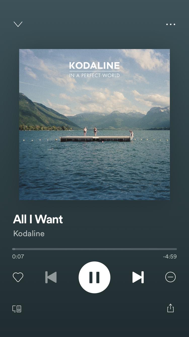 Kodaline In 2020 Instagram Music Music Collage Spotify Screenshot