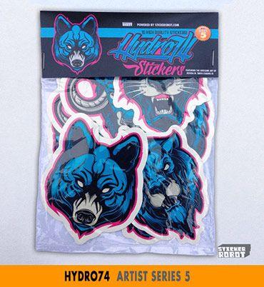 Hydro74 sticker pack artist series 5