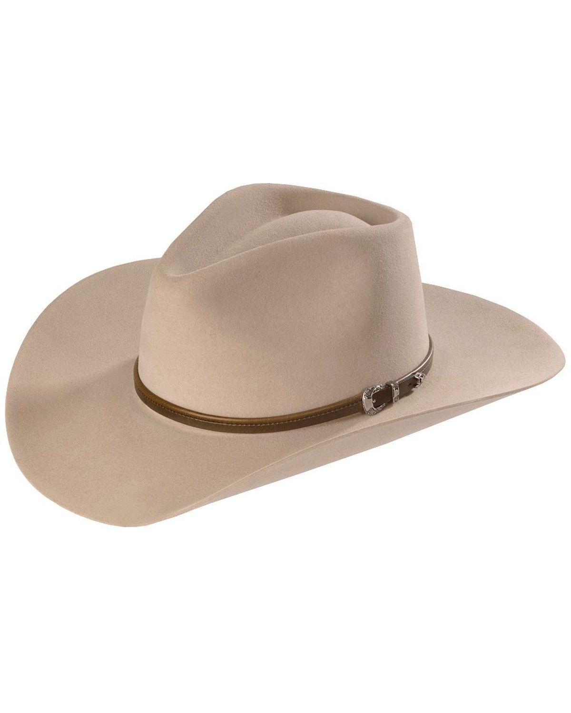 TWBOZE-813007 Black Stetson Bozeman Wool Felt Crushable Cowboy Hat