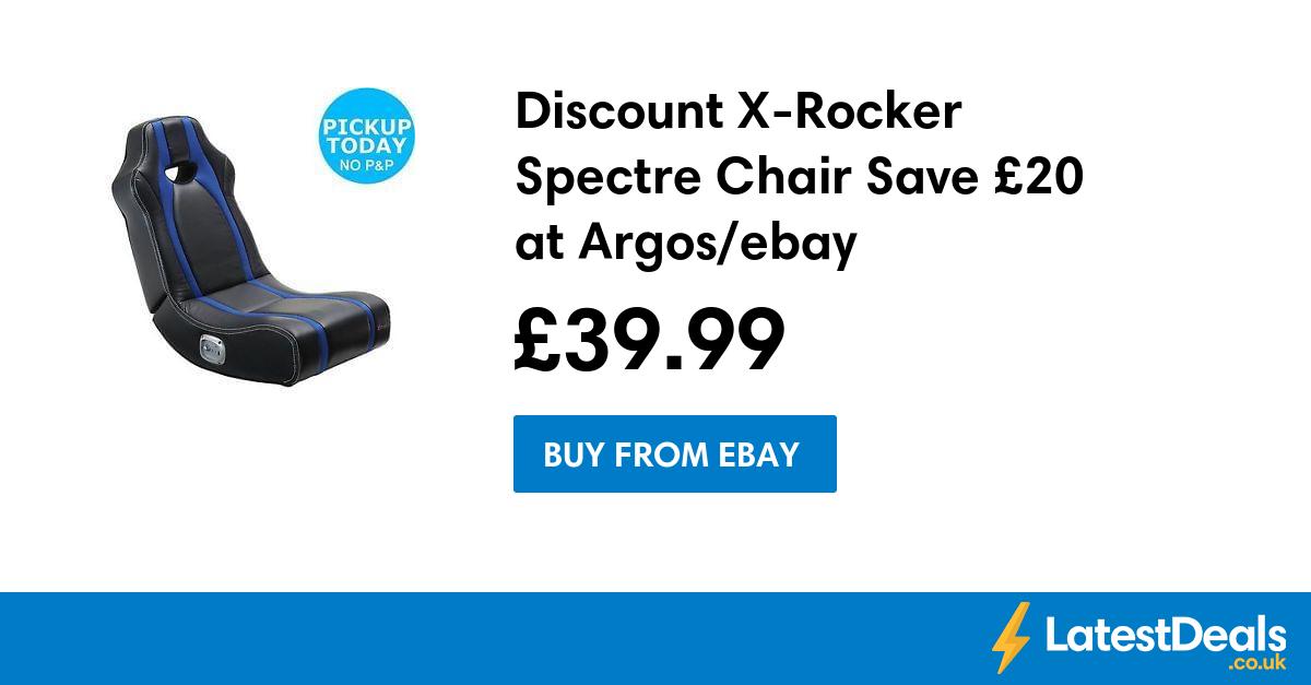 Discount XRocker Spectre Chair Save £20 at Argos/ebay, £