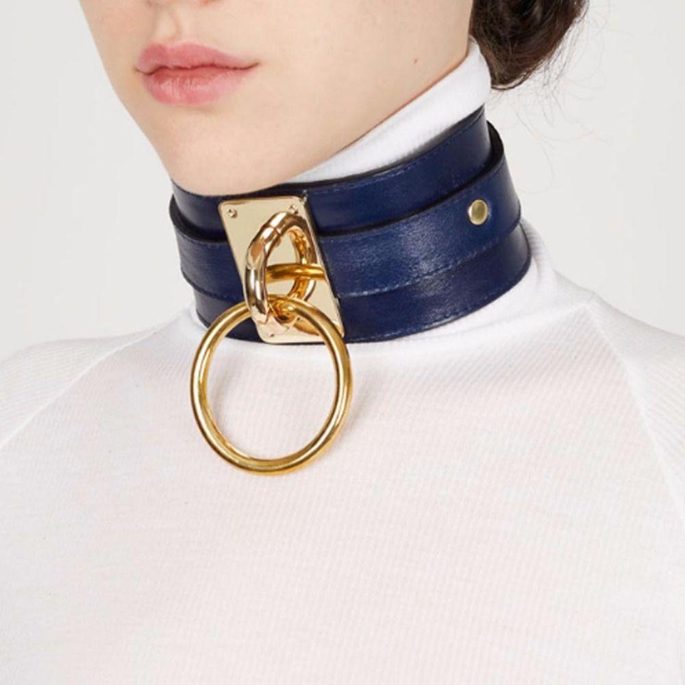 Bondage collar finding