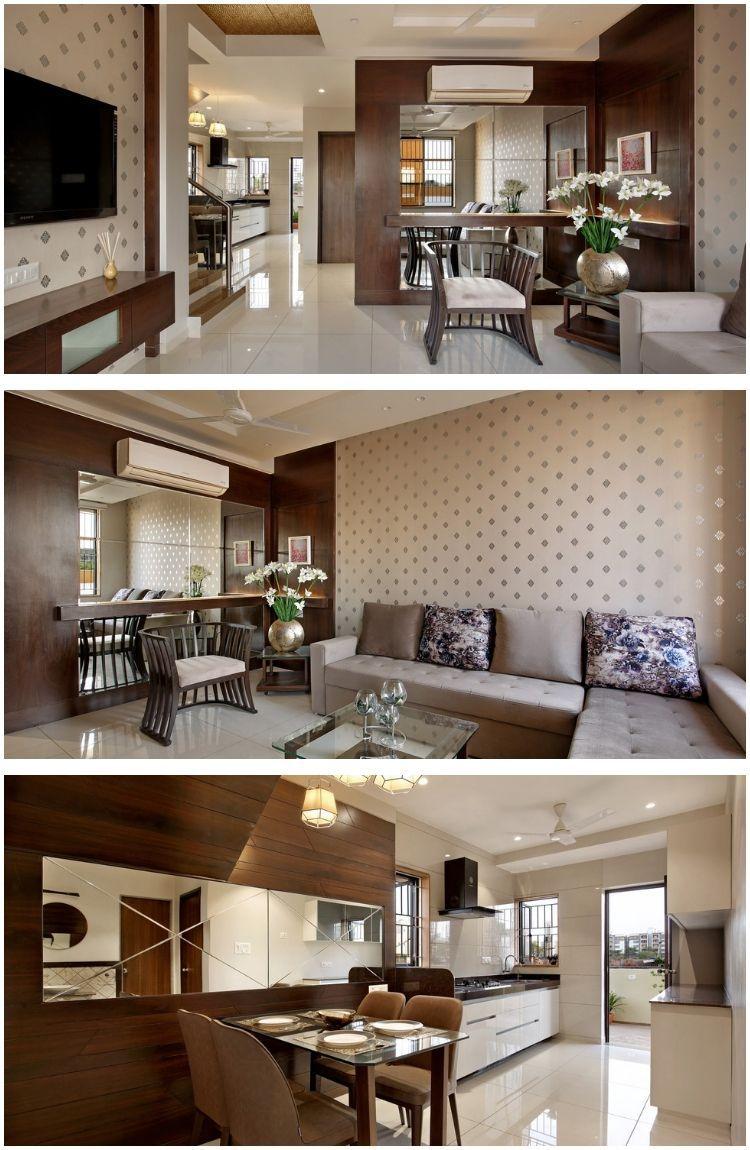 Villa interiors vadodara living dinning studio also apartment studio bedroom design interior in rh pinterest