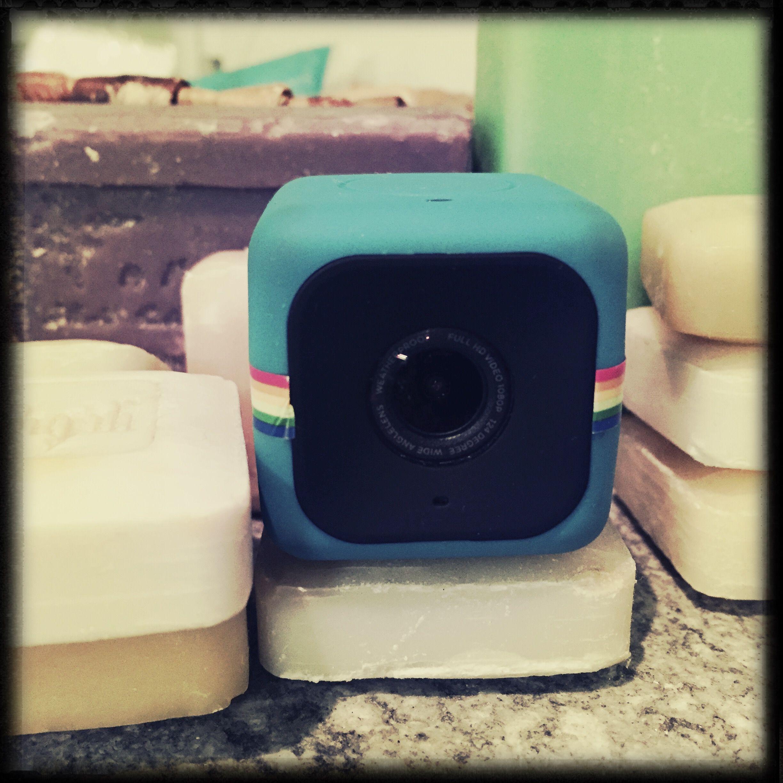Polaroid Cam Cube hipstamatich #hipstamatic    #polaroid #cam #actioncam #cube #blu