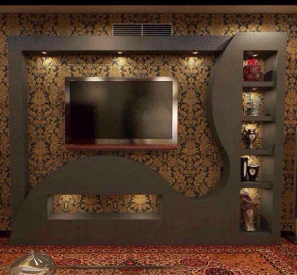 اصباغ الكويت 55050048 Lcd Wall Design Modern Tv Wall Units Tv Wall Decor
