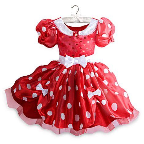 aaa434c9c09c00 Robe de déguisement Minnie Mouse rouge pour enfants | DEGUISEMENTS ...