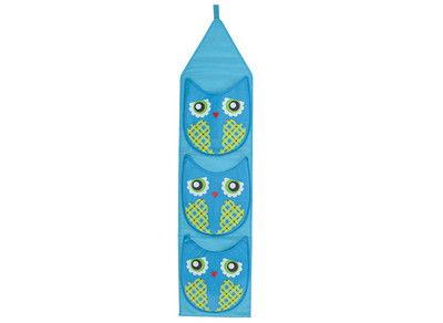 Keeping Kids rooms tidy with this lovely fun owl three pocket hanger $14.99 each