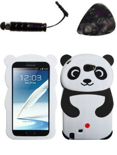 Accessoires fur mobile SAMSUNG Galaxy Note II (T889 I605 N7100) White Panda (with Black Hands) AND HiShop(TM) Stylus, Guitar Pick/Pry Tool , http://www.amazon.de/dp/B00DHYKMTU/ref=cm_sw_r_pi_dp_VnS2rb1NSDBX8
