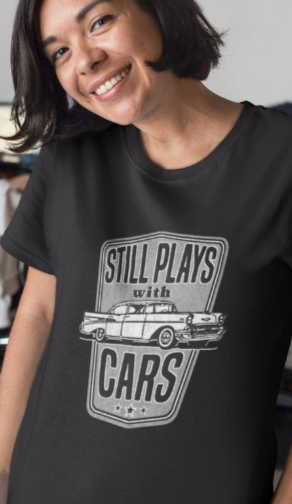 Still Plays With Cars Shirt / Classic '57 Automobile