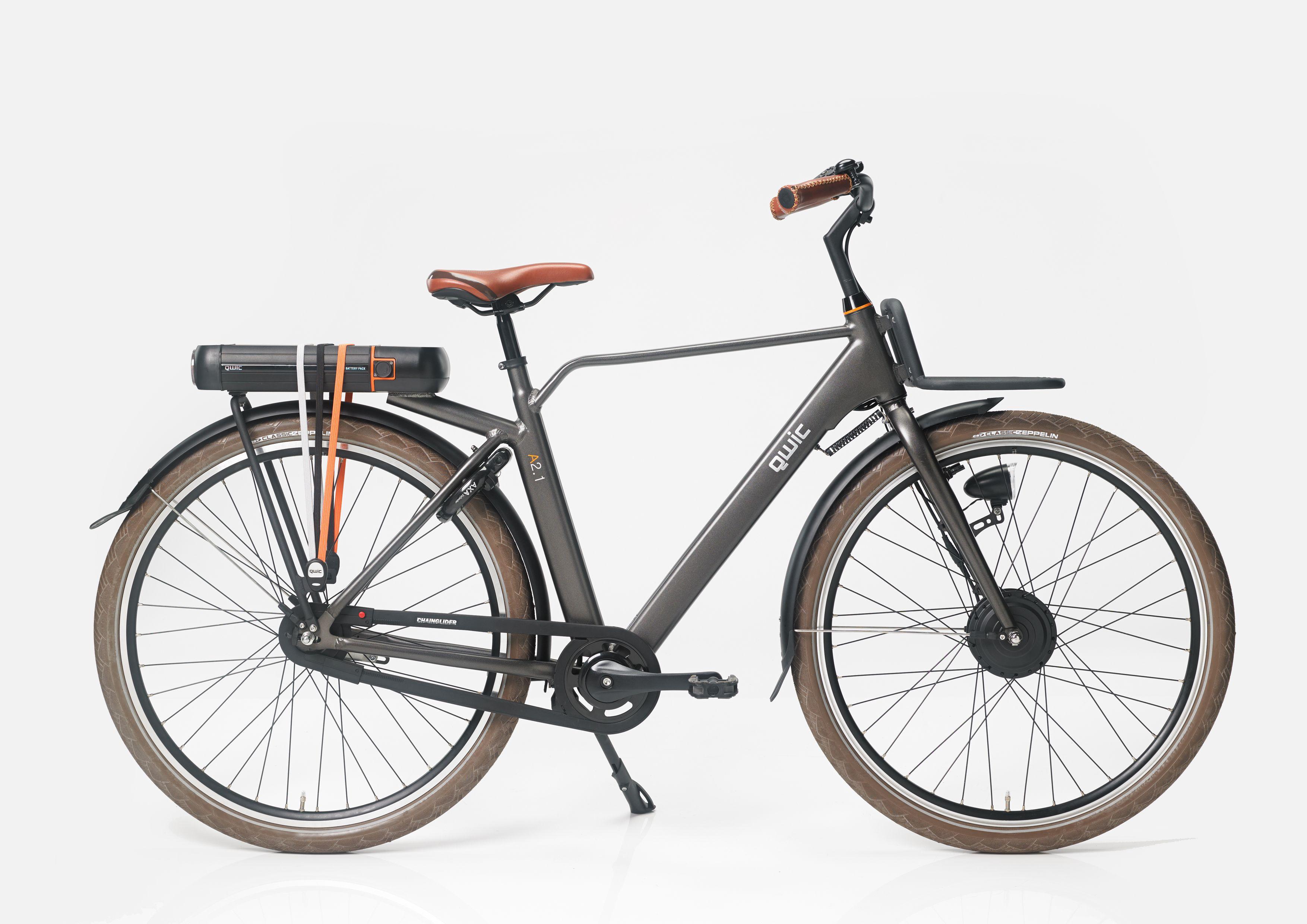 QWIC A1.2 e-bike designed by Robert Bronwasser. Red Dot Award 2014