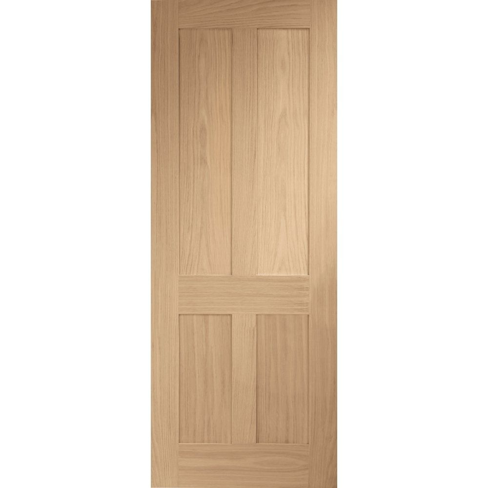Xl Joinery Internal Oak Unfinished Victorian Shaker Door