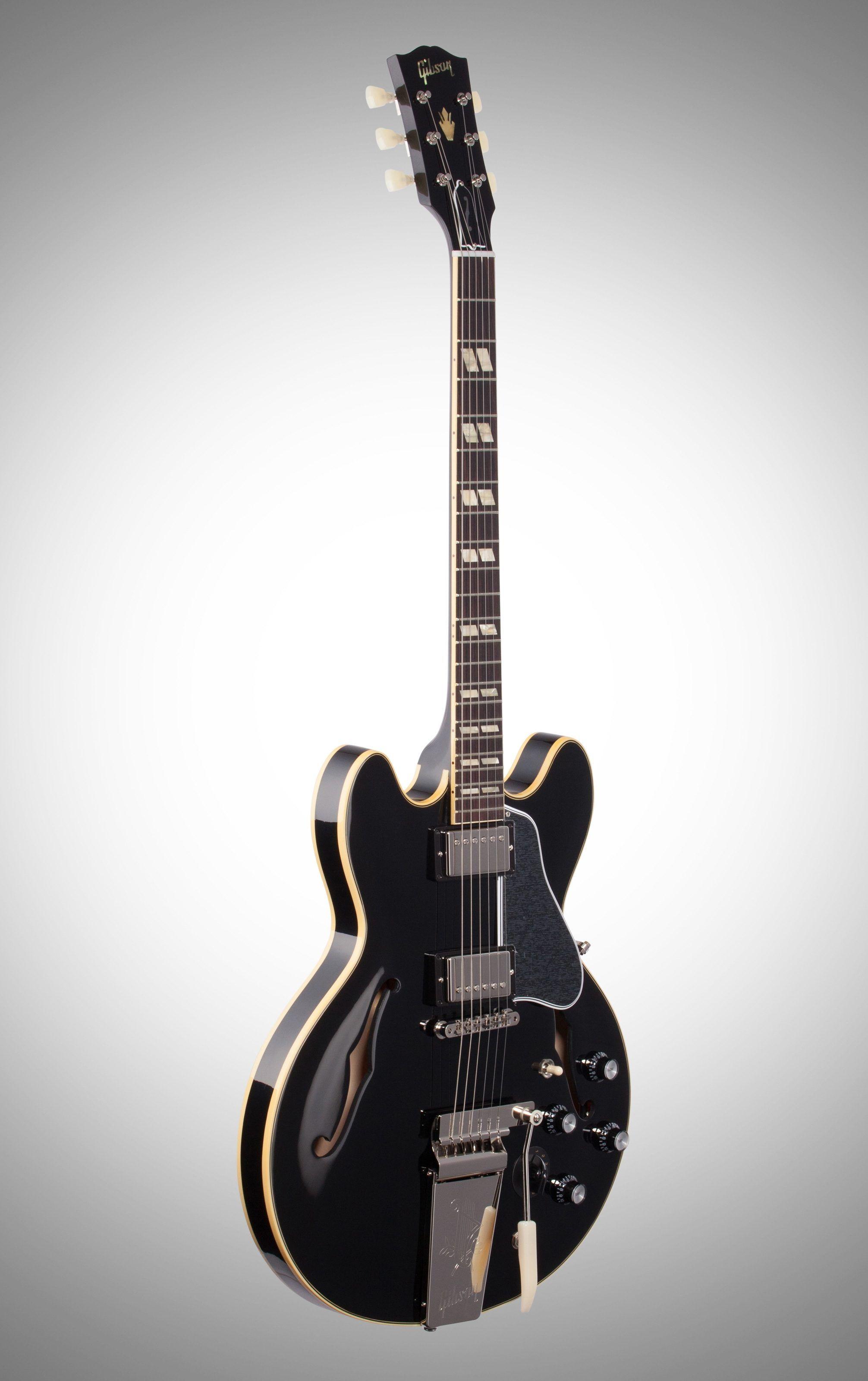 Gibson 2019 ES-345 Maestro Tremolo Semi-Hollow Electric Guitar ... on