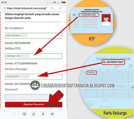 Ada Waktu Cara Registrasi Ulang Kartu Simpati Online Via Internet Kartu Internet Website