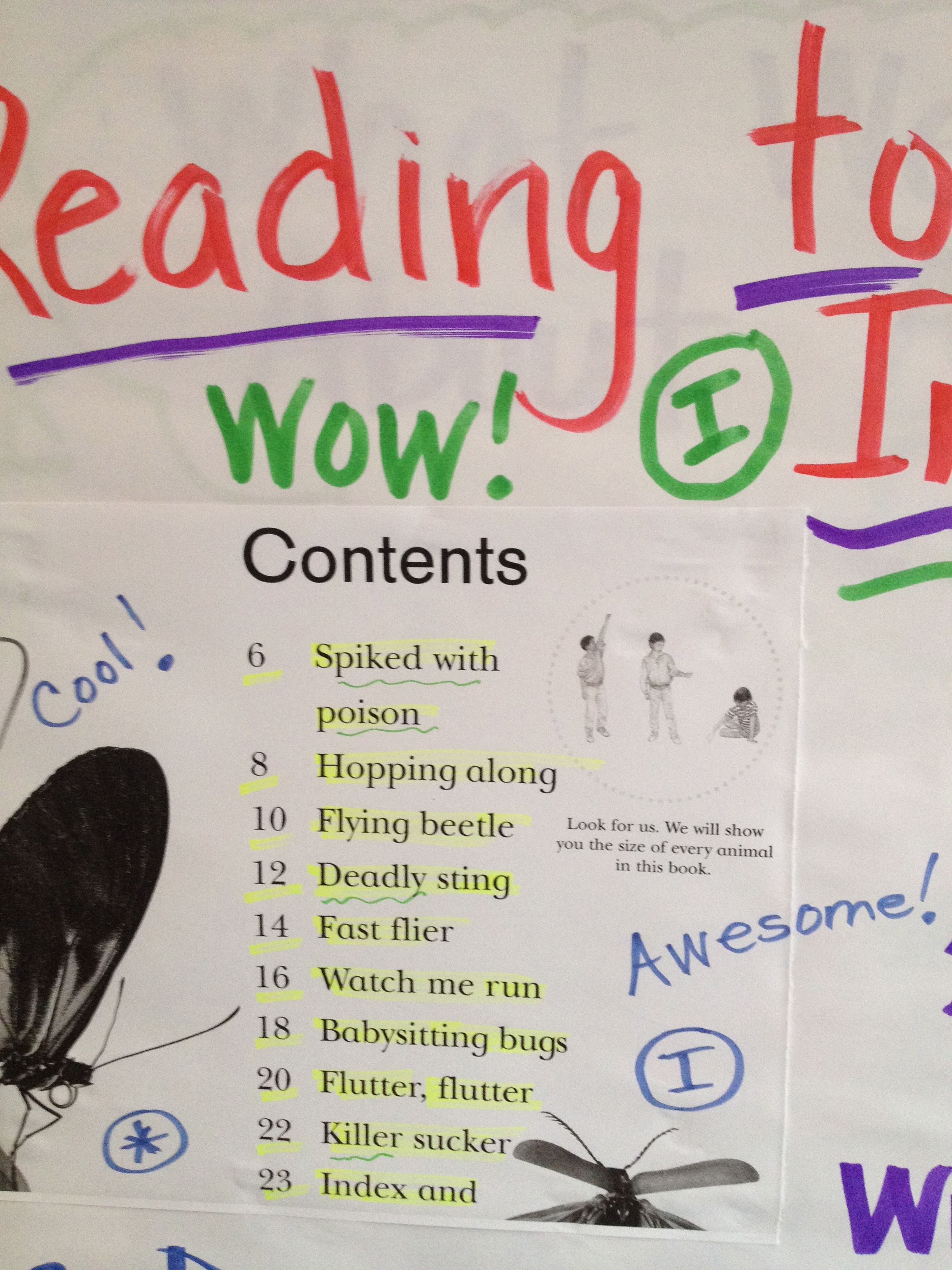 Anchor Chart Nonfiction Reading To Learn Information