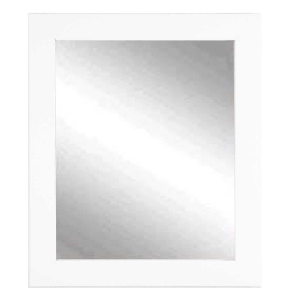 Vision in White Vanity Wall Mirror