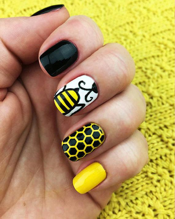 Honeycomb Nail Stencils Set , incredible nail art vinyl
