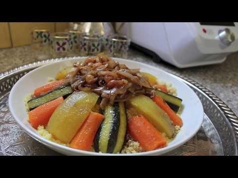 Recette de couscous Monsieur Cuisine / Thermomix