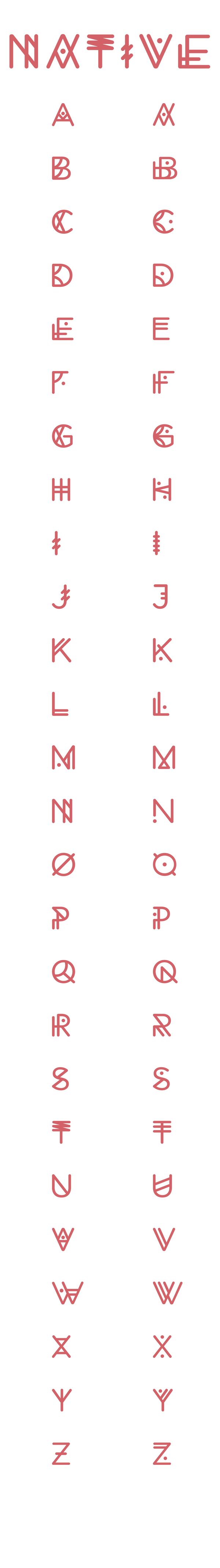 Tattoo name writing designs experimental typeface of  u native  design you trust u design