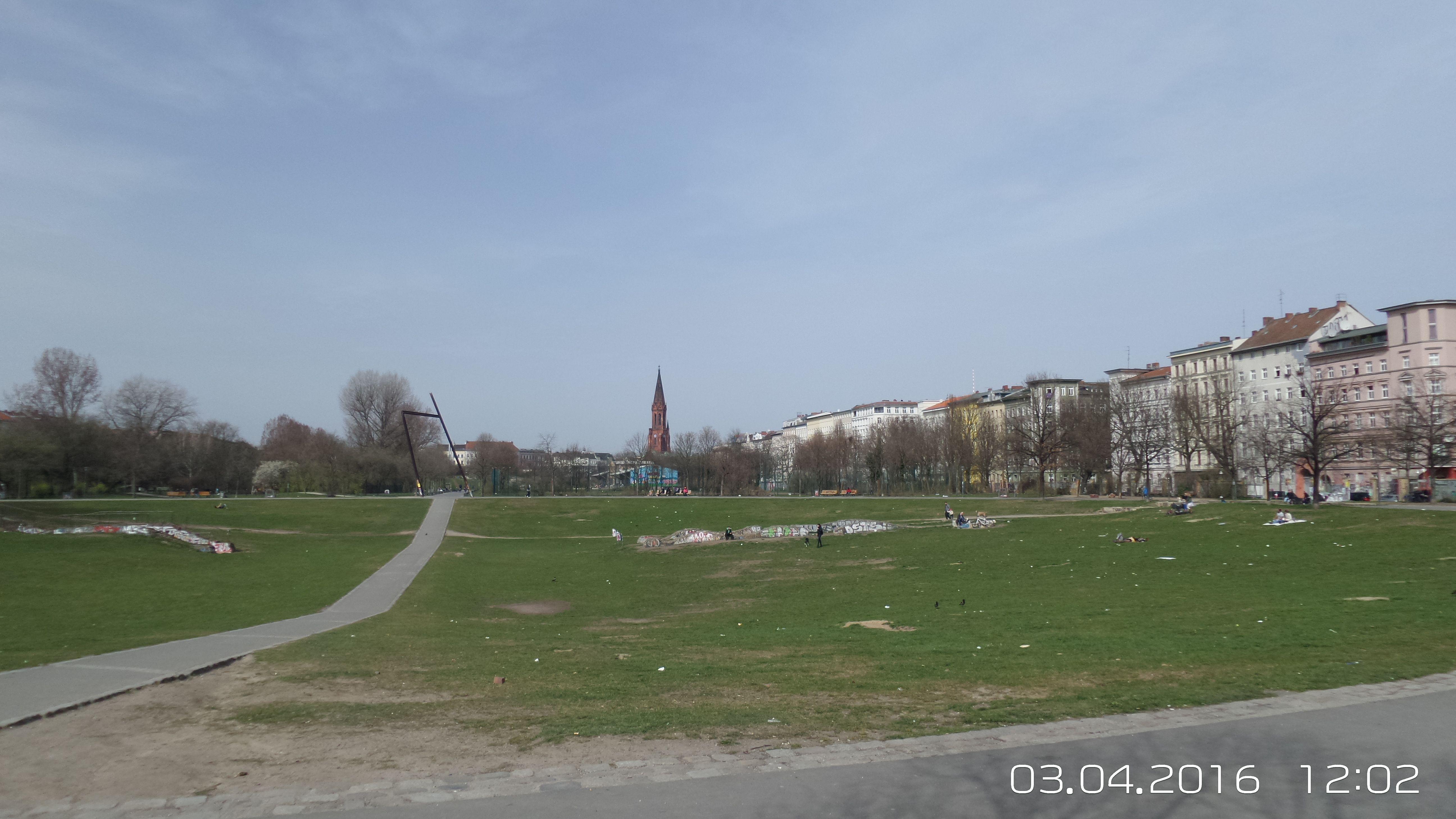 Gelände des ehm. Görlitzer Bahnhofs