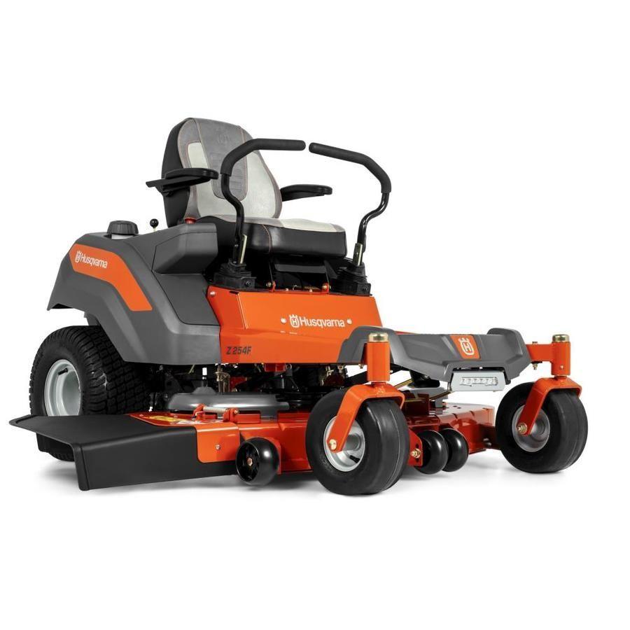 Husqvarna Z254f 26 Hp V Twin Hydrostatic 54 In Zero Turn Lawn Mower With Mulching Capability Kit Sold Separately At Lowes Com In 2020 Zero Turn Lawn Mowers Lawn Mower Mulching