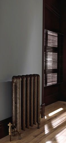 radiateur eau chaude poser en fonte horizontal taby tumba imperial bathrooms. Black Bedroom Furniture Sets. Home Design Ideas