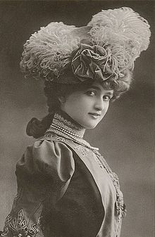 Gaby Deslys (1881 – 1920) was a dancer, singer, and actress of the early 20th century from Marseilles, France. She selected her name for her stage career, an abbreviation of Gabrielle of the Lillies. During the 1910s she was exceedingly popular worldwide, making thousands of dollars a week in the United States alone. Renowned for her beauty, she was courted by several wealthy gentlemen, including King Manuel II of Portugal.
