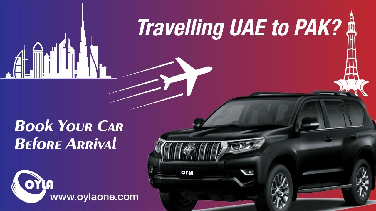 Oyla One Is Leading Airport Car Hire In Pakistan For Online Booking Visit Https Oylaone Com Or Whatsapp On Car Rental Service Car Rental Cheap Car Rental