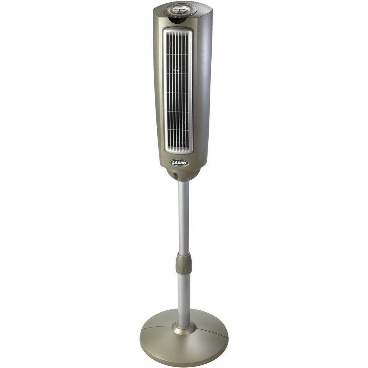 Grey Lasko Pedestal Fan Tower Fan Pedestal Fan Lasko