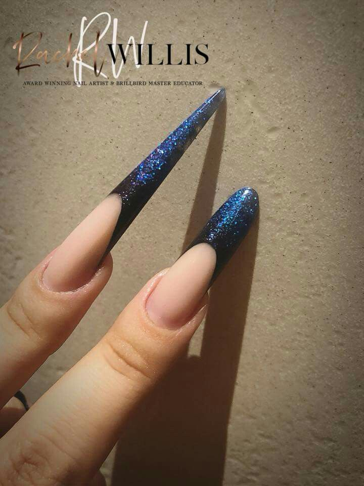 13 Cute Stiletto Nail Designs - Best Ideas for Long and