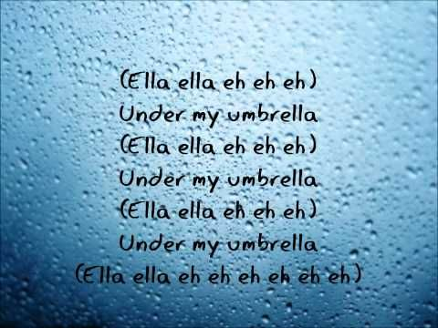 Rihanna Umbrella When The Sun Shines We Ll Shine Together Told You I Ll Be Here Forever Said I Ll Always Be Your Friend Too Told You So Lyrics Umbrella