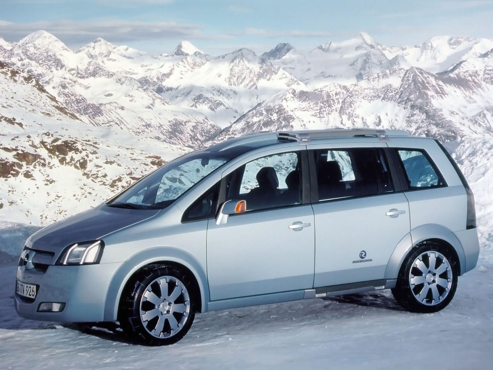 Opel Zafira Snowtrekker Concept A 2000