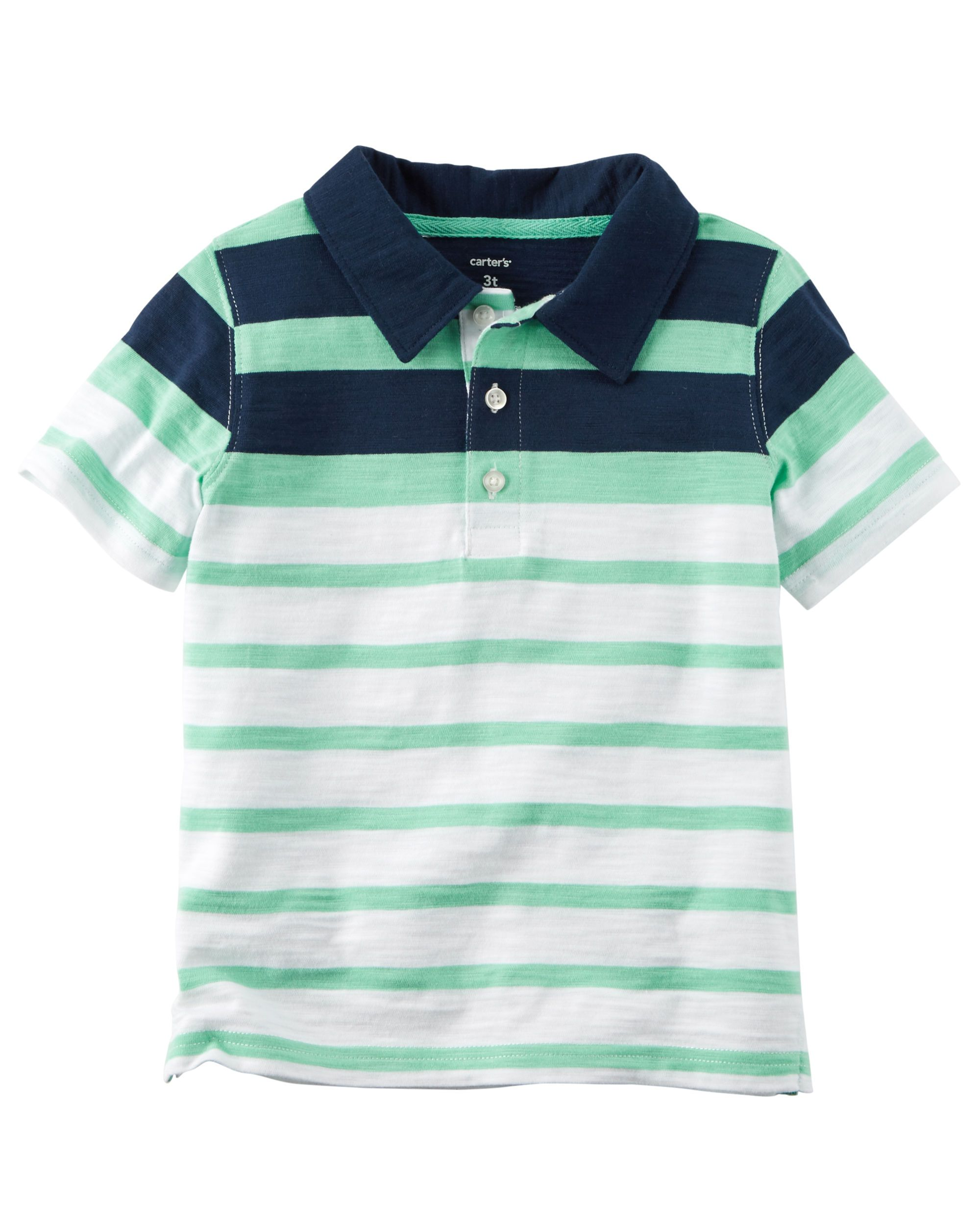 2aa2807f87 Striped Slub Jersey Polo | Max's | Striped polo shirt, Polo, Polo outfit