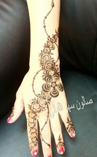 Pretty Roses Henna Design Henna Henna Designs Henna