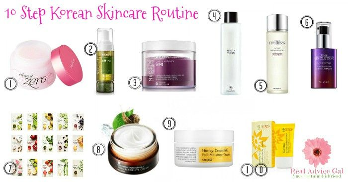 10 Step Korean Skin Care Routine Real Advice Gal Cheap Skin Care Products Skin Care Acne Anti Aging Skin Care