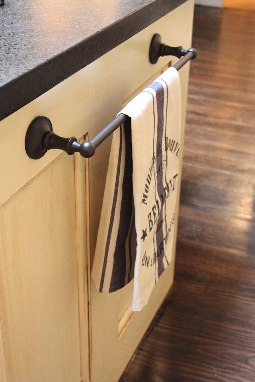 Stainless Steel Tea Towel Rail For Under Sink Laundry Cabinets Tansel Storage Kitchen Towel Holder Paper Towel Holder Bathroom Towel Bar