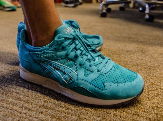 Ronnie Fieg In Asics Gel Lyte V Cove Sneakernews Com