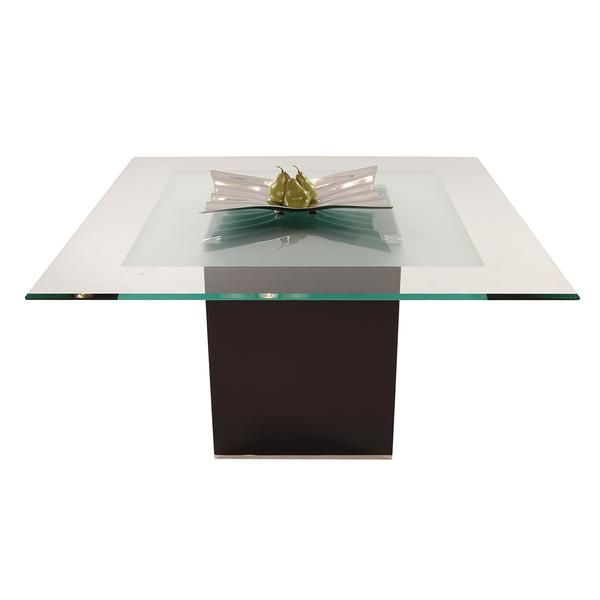 Cubus Charcoal Square Dining Table Square Dining Tables Dining