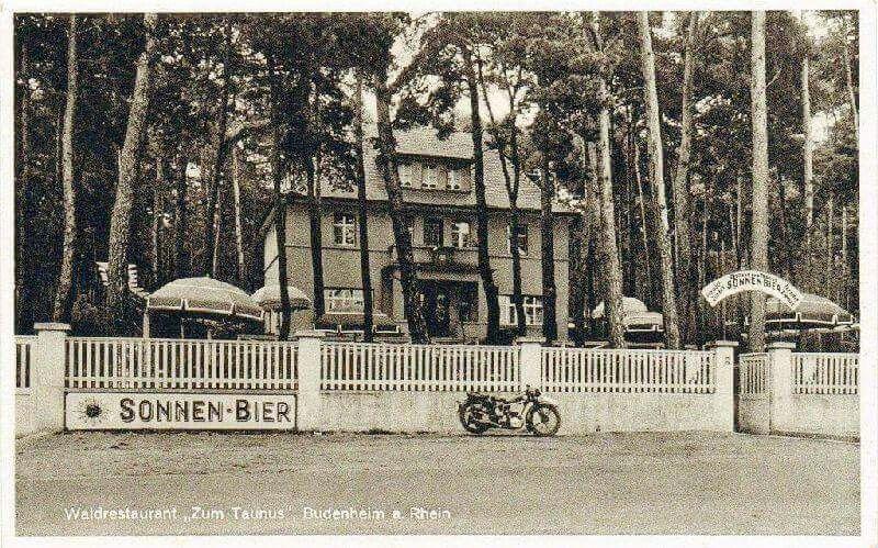 Zum Rotkäppchen 1939 Mainz Budenheim