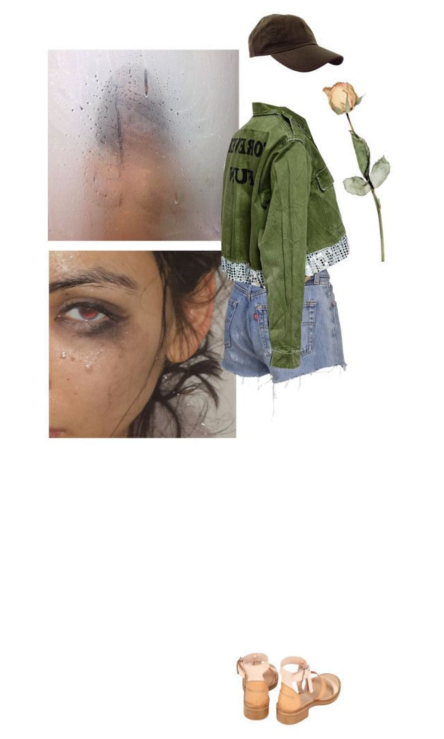 """You're not as tough as you think you are"" by petrified ❤ liked on Polyvore featuring art"