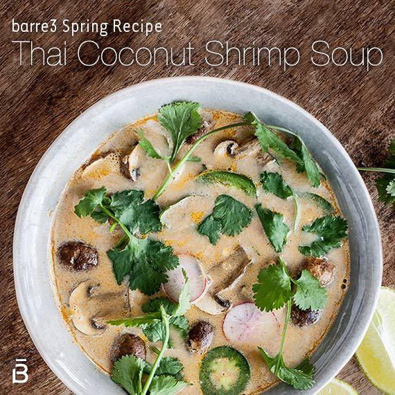 Thai Coconut Shrimp Soup | Food