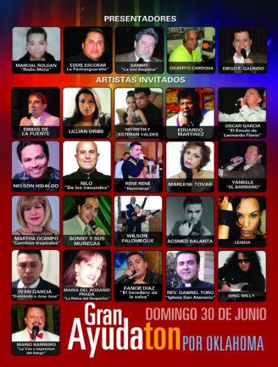 Ayudaton Oklahoma  Domingo 30 de Junio Teatro Boulevard 82-22 Northern Blvd, Jackson Heights, NY Organiza: Red de Apoyo Voluntariado VIP del Consulado General de Colombia en New York